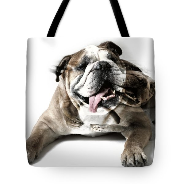 Dog Mastiff Tote Bag