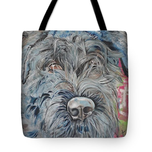 Dog Of Flanders The Bouvier Tote Bag
