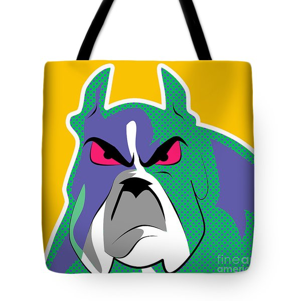 Dog Pop  Tote Bag