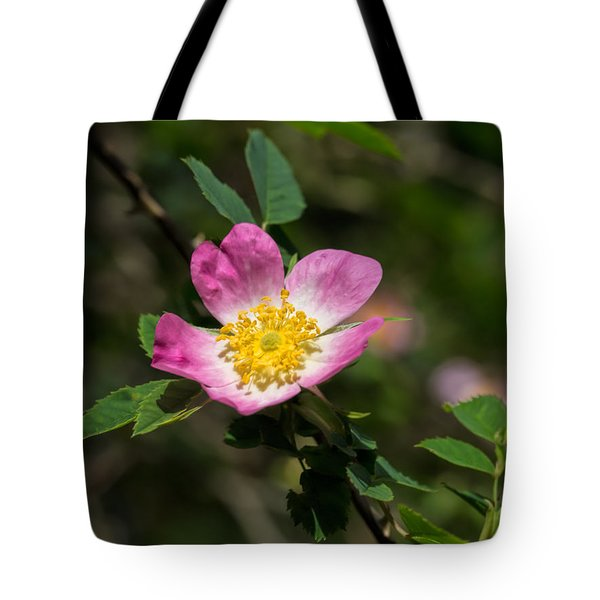 Tote Bag featuring the photograph Dog-rose by Leif Sohlman