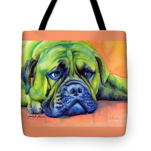 Dog Tired Tote Bag