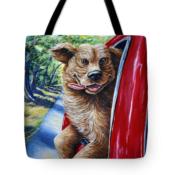 Dog...gone Happy Tote Bag
