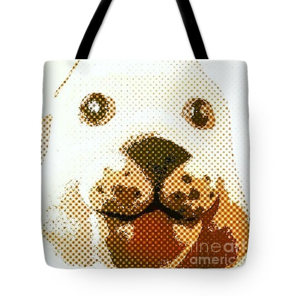 Dogs Head Tote Bag