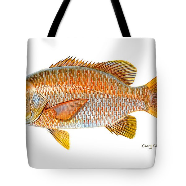 Dogtooth Snapper Tote Bag by Carey Chen