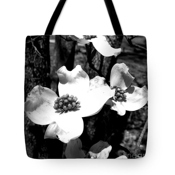 Dogwood 3 Tote Bag by Andrea Anderegg