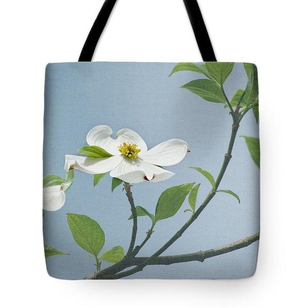 Dogwood Blossoms Tote Bag by Kim Hojnacki