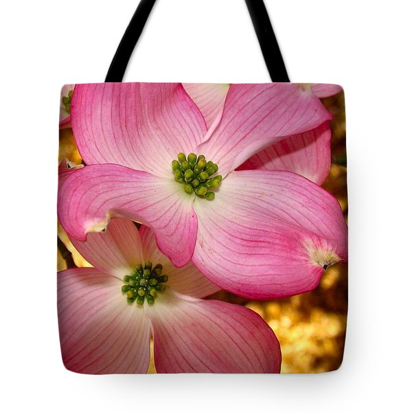 Dogwood In Pink Tote Bag
