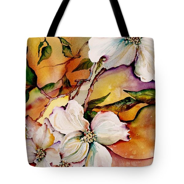 Dogwood In Spring Colors Tote Bag