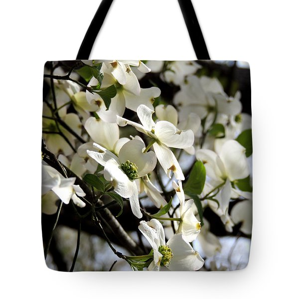 Dogwoods In The Spring Tote Bag