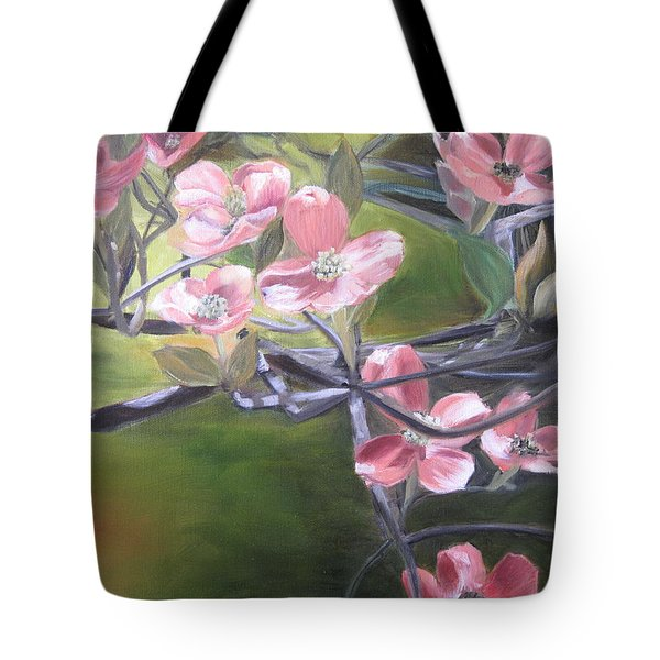 Dogwoods Tote Bag