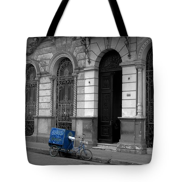 Doing The Rounds Tote Bag by James Brunker