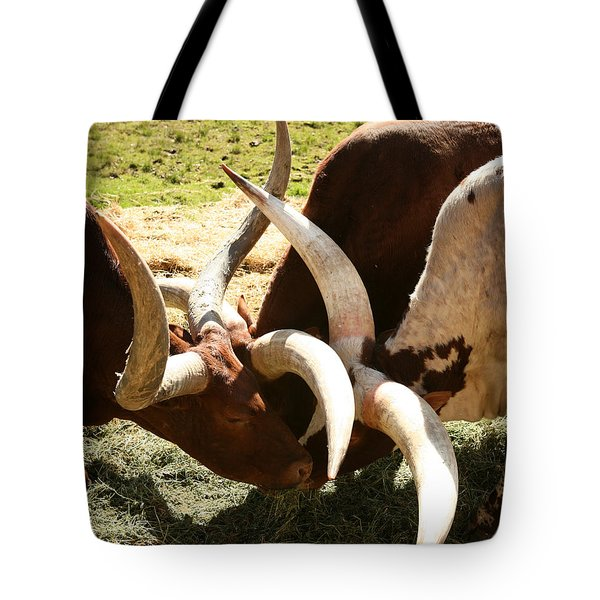 Doing The Watusi Tote Bag
