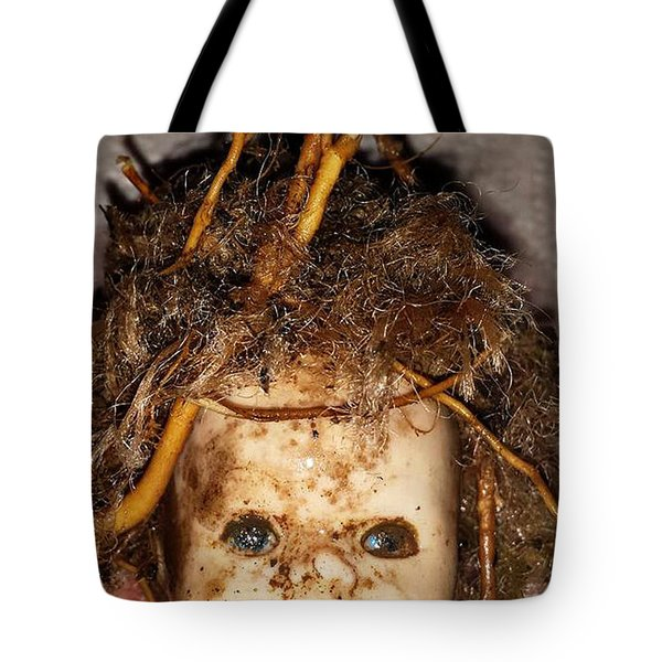 Doll Head Tote Bag