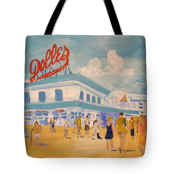 Dolles Salt Water Taffy Tote Bag