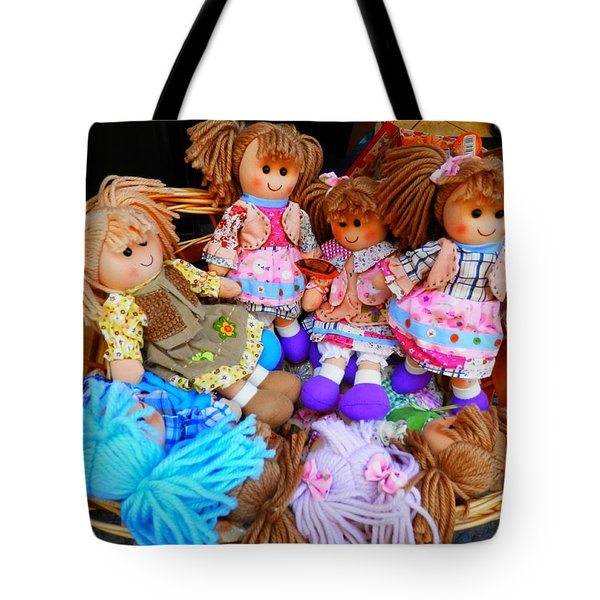 Dolls For Sale 1 Tote Bag by Pema Hou