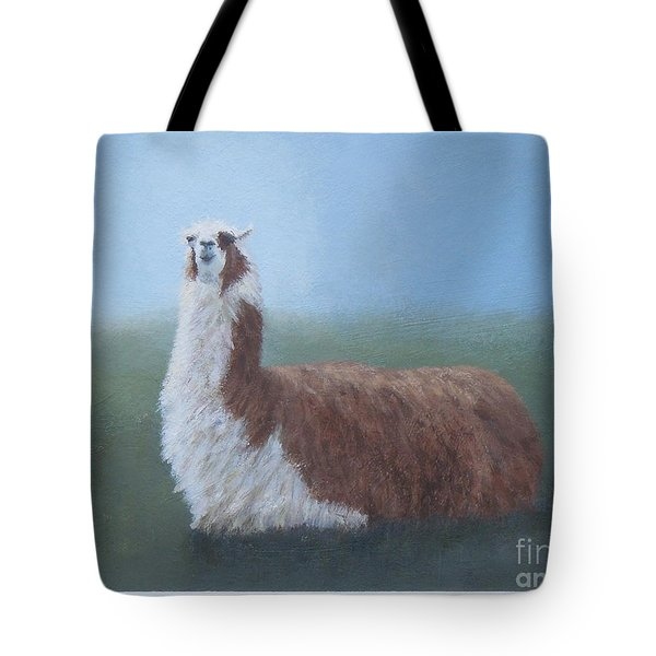 Dolly Llama Tote Bag