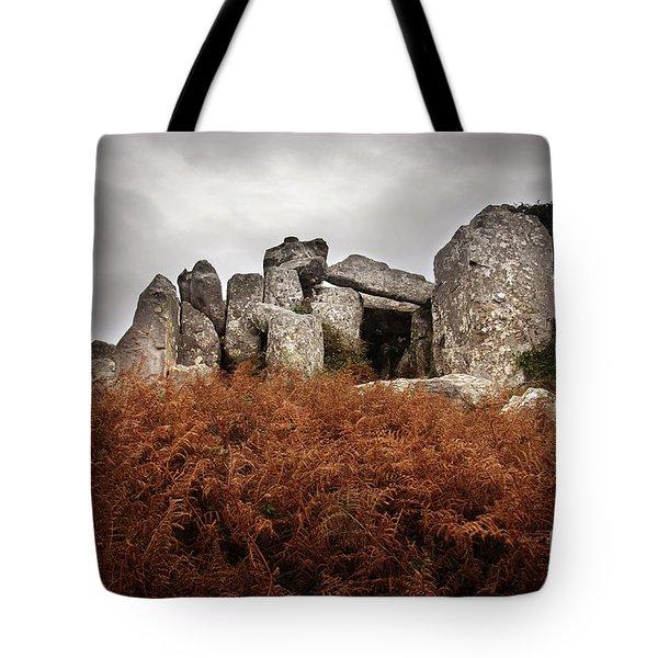 Dolmen Tote Bag by Carlos Caetano