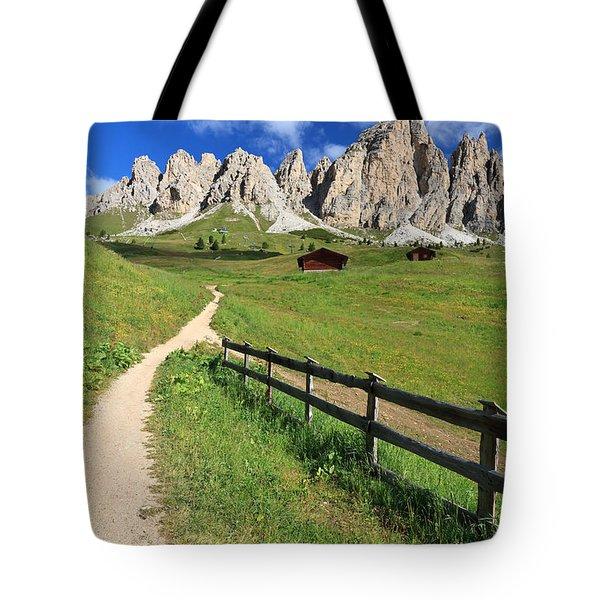 Dolomiti - Cir Group Tote Bag by Antonio Scarpi