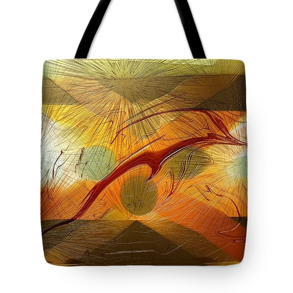 Dolphin Abstract - 2 Tote Bag