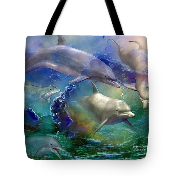 Dolphin Dream Tote Bag