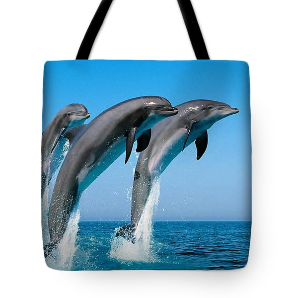 Dolphin Dreams Tote Bag by Marvin Blaine