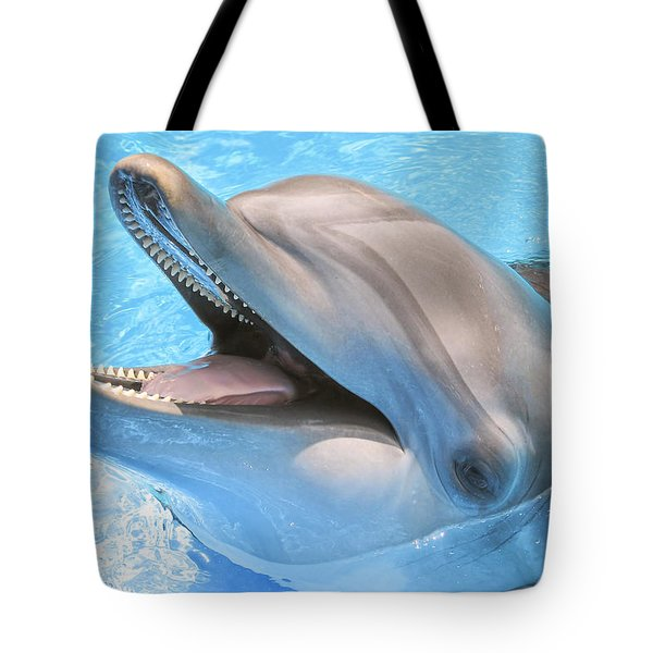 Joyous Smile Tote Bag
