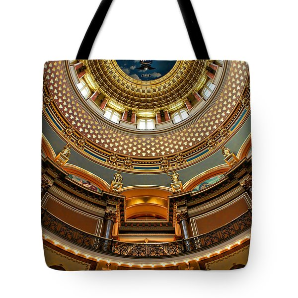 Dome Designs - Iowa Capitol Tote Bag