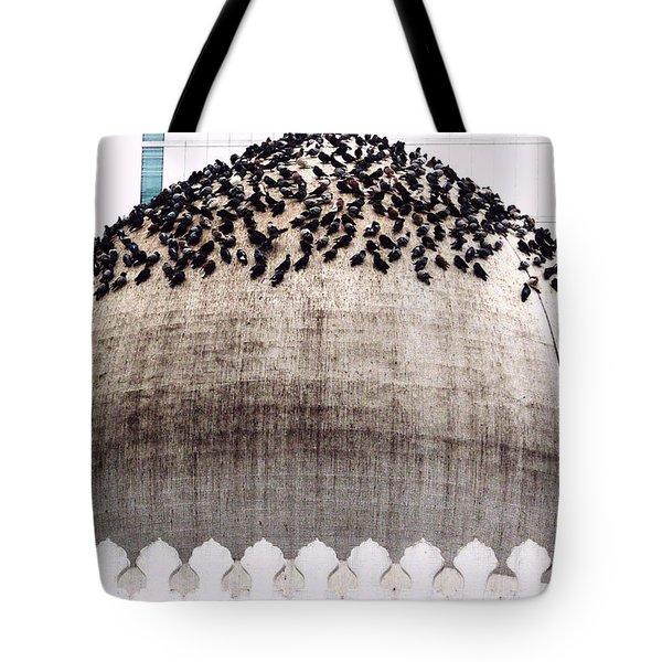 Dome Of The Mosque Tote Bag