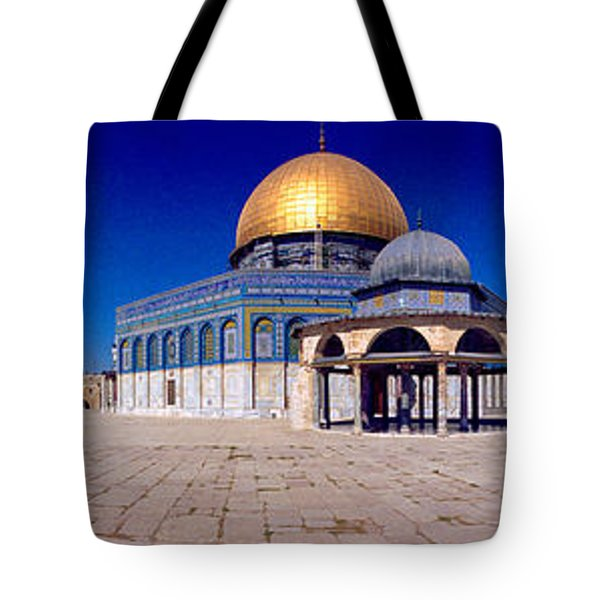Dome Of The Rock, Temple Mount Tote Bag