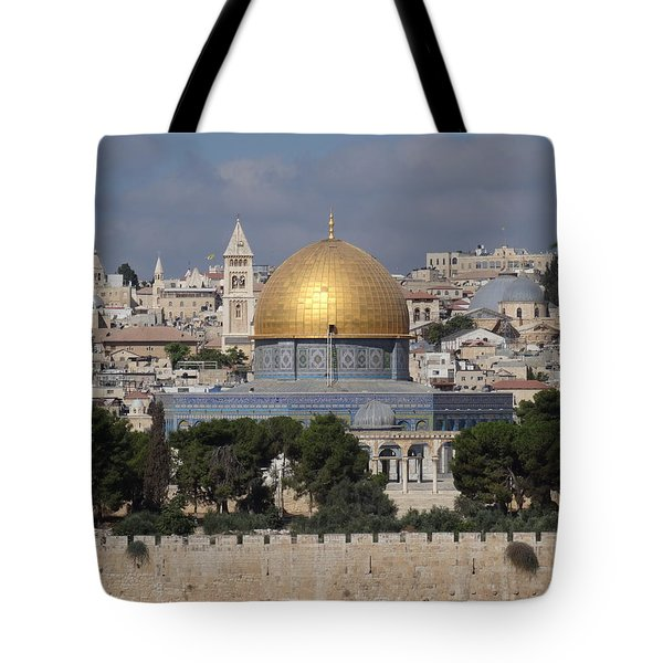 Dome On The Rock  Tote Bag