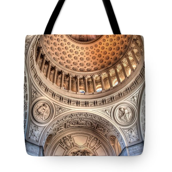 Domed Ornate Interior Tote Bag