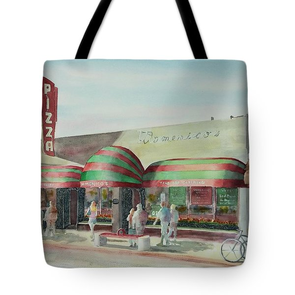 Domenicos In Long Beach Tote Bag