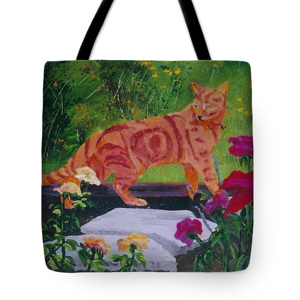 Domestic Tiger Tote Bag