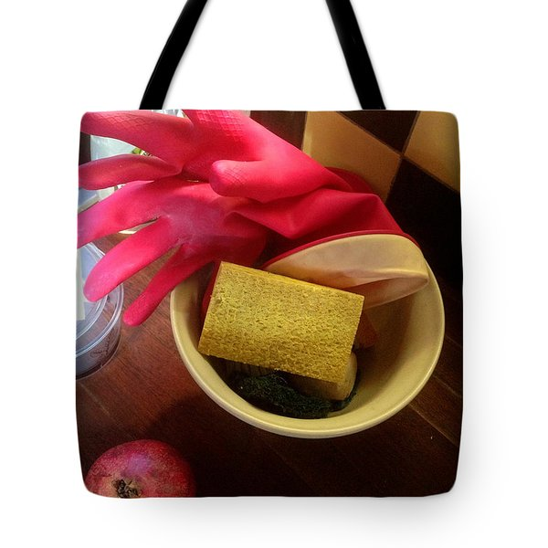 Domesticity Tote Bag