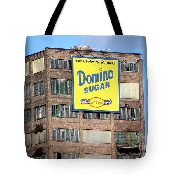 Domino Tote Bag by Ed Weidman