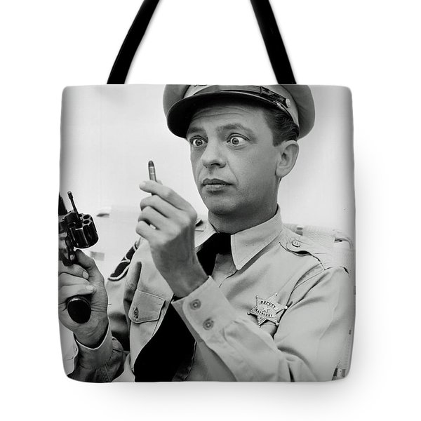 Barney Fife - Don Knotts Tote Bag