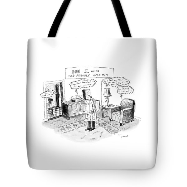Don Z. And His User-friendly Apartment Tote Bag
