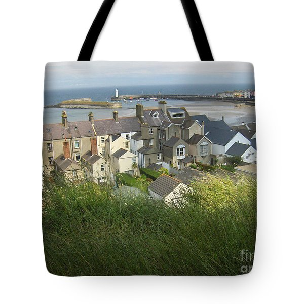 Donaghadee Northern Ireland View From The Moat Tote Bag