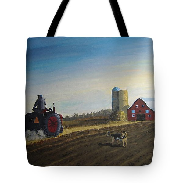 Done For The Day Tote Bag by Norm Starks