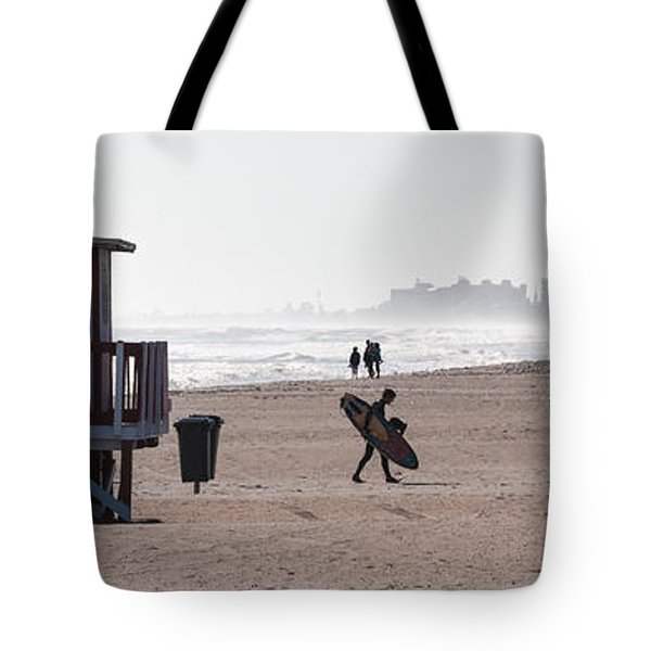 Done Surfing Tote Bag by Ed Gleichman