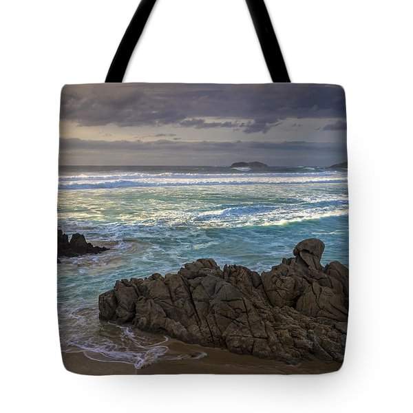 Tote Bag featuring the photograph Doninos Beach Ferrol Galicia Spain by Pablo Avanzini