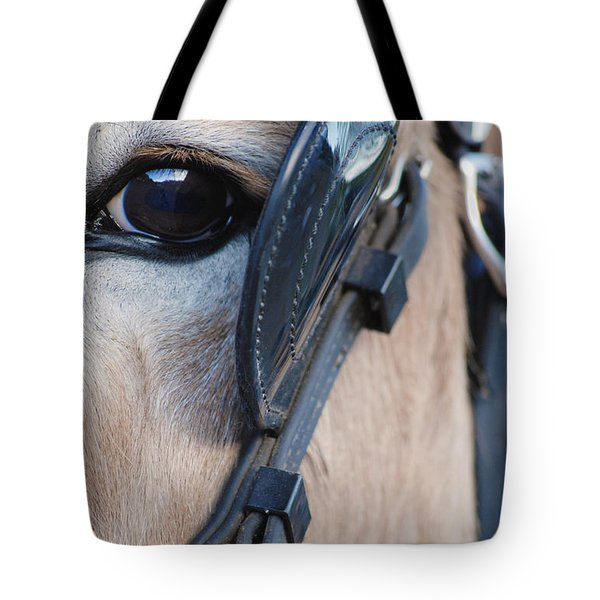 Donkey Eye Tote Bag