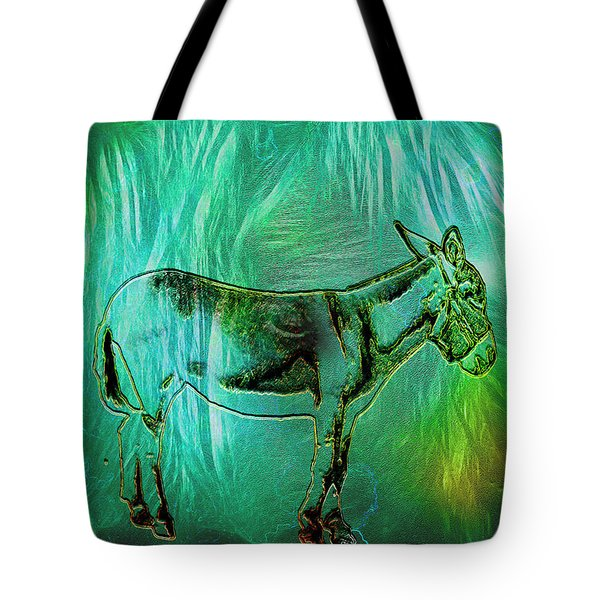 Donkey-featured In Nature Photography Group Tote Bag by EricaMaxine  Price