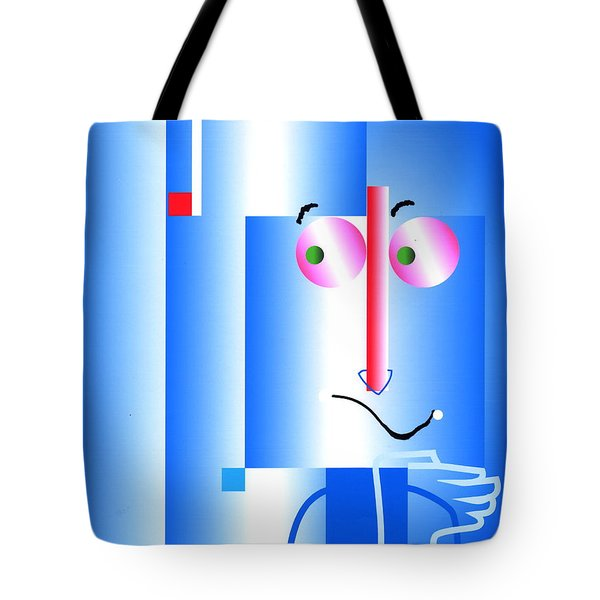 Don't Blame Me Tote Bag by Mary Armstrong