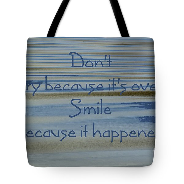 Don't Cry.....1 Tote Bag