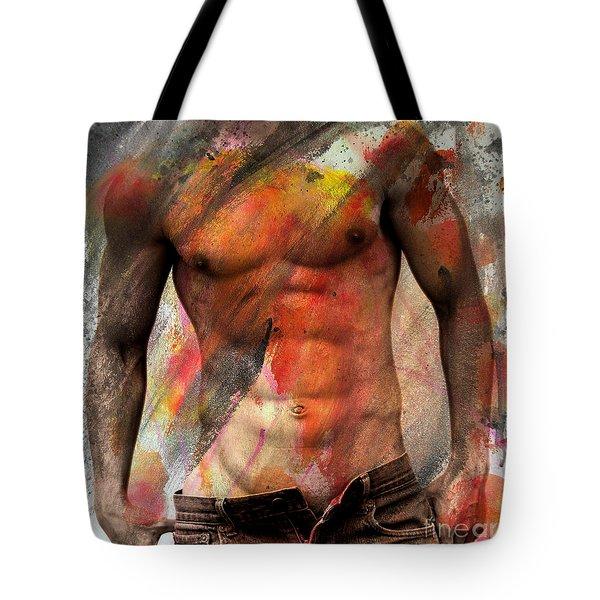 Don't Explain  Tote Bag by Mark Ashkenazi