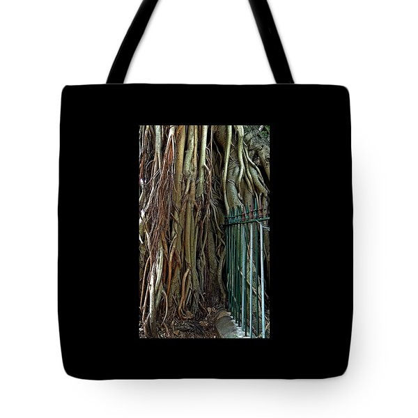 Don't Fence Me In. Tote Bag