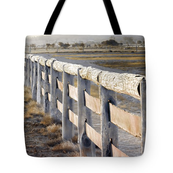 Don't Fence Me In Tote Bag by Holly Kempe