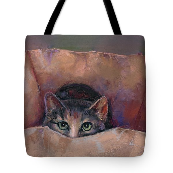Don't Let The Cat Out Of The Bag Tote Bag