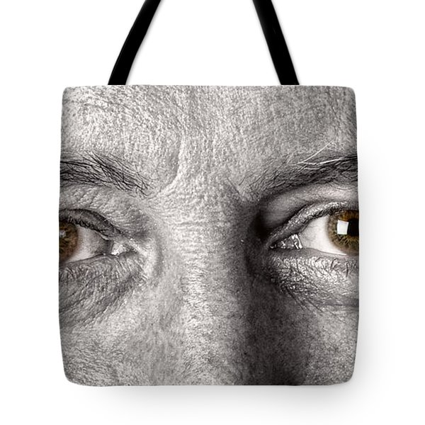 Dont Let The Stars Get In Your Hazel Eyes Tote Bag by James BO  Insogna